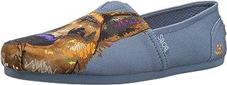 حذاء باليه مسطح نسائي من Skechers BOBS من قماش الدانتيل