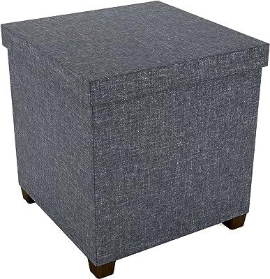 Amazon Com Ottoman Footstool Simple Fashion Fabric Small