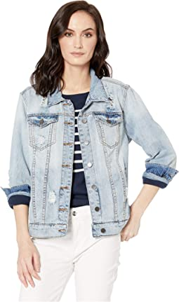 Emma Boyfriend Jacket in Esteemed/New Vintage Base Wash