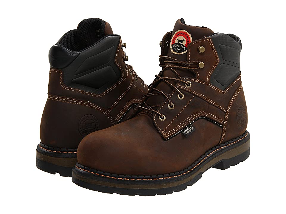 Irish Setter 83600 6 Aluminum Toe (Brown) Men