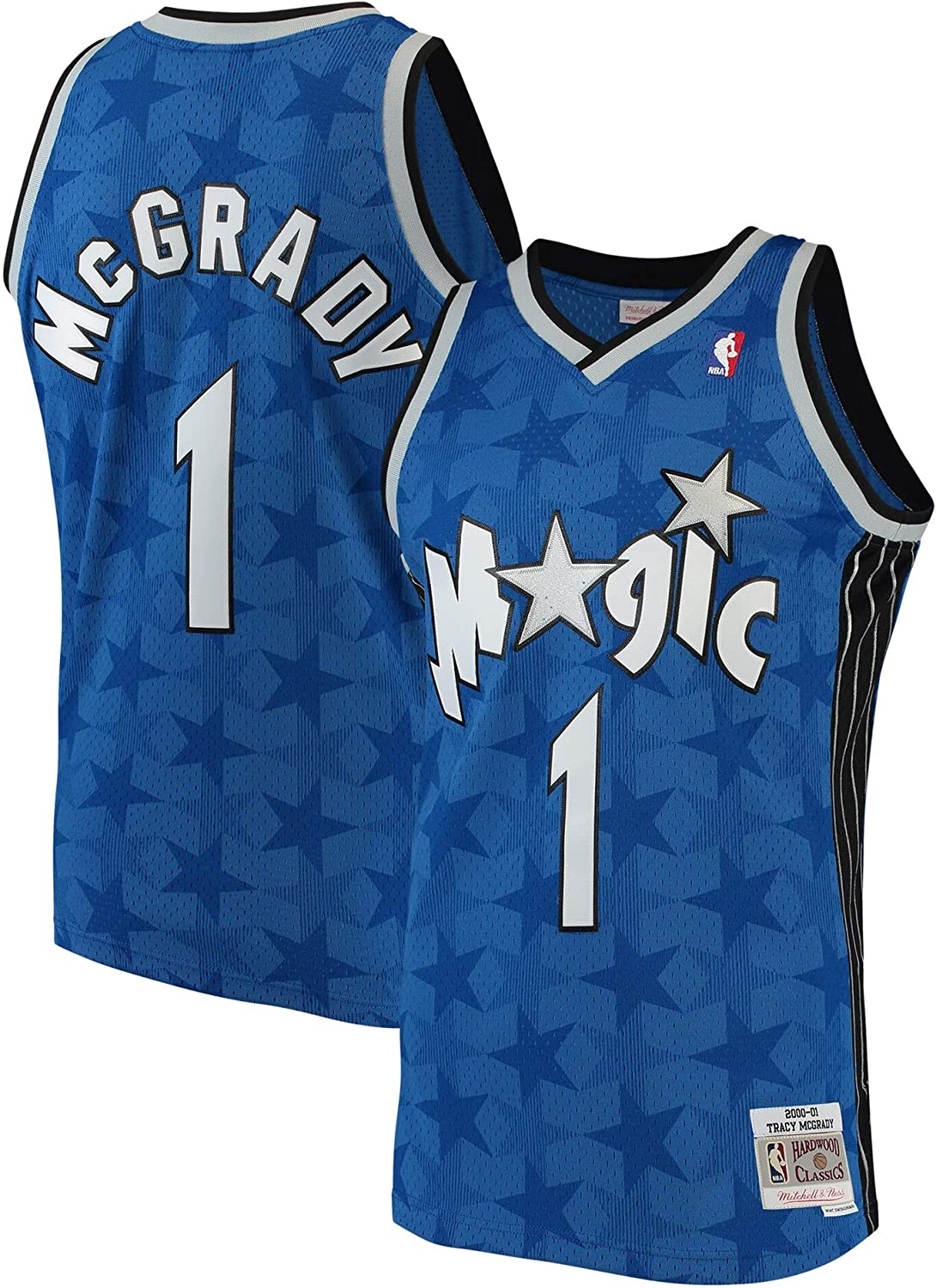 Some reservation Tracy McGrady Max 41% OFF Orlando Magic #1 Blue Soul 8-20 Youth Cla Hardwood