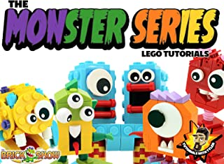 The Monster Series - Lego Tutorials (Tutorials with Tyler)