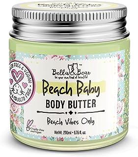 Bella and Bear Body Butter for Women - Shea Butter Body Cream 7oz