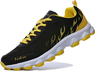 WELMEE Women's Men's Comfortable Breathable Walking Sneakers Jogging Athletic Tennis Running Shoes