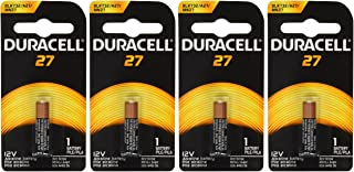 Duracell MN27BPK Watch / Electronic / Keyless Entry Battery, 12 Volt Alkaline X 4 Batteries