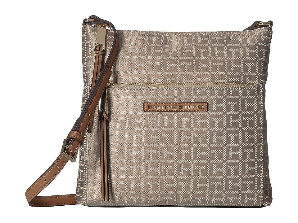 Tommy Hilfiger Althea Crossbody (Khaki/Tonal) Handbags