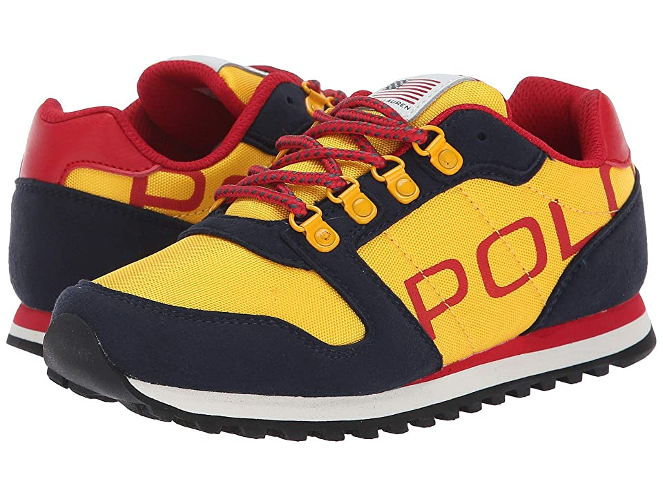 Polo Ralph Lauren Kids Oryion II (Little Kid/Big Kid) (Navy/Yellow) Boy
