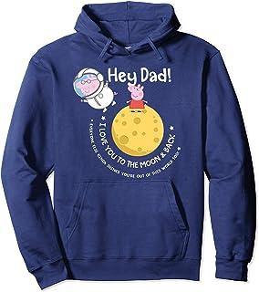 Peppa Pig Moon & Back Father's Day Sweat à Capuche
