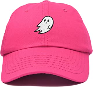 Ghost Embroidery Dad Hat Baseball Cap Cute Halloween