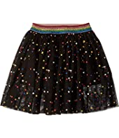 Stella McCartney Kids - Amalie Multicolor Polka Dot Tulle Overlay Skirt (Toddler/Little Kids/Big Kids)