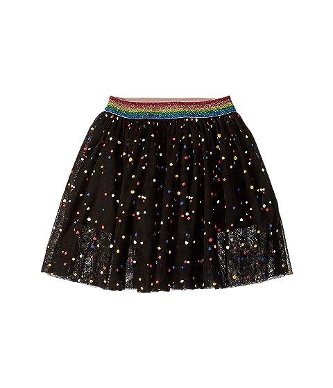 Stella McCartney Kids Amalie Multicolor Polka Dot Tulle Overlay Skirt (Toddler/Little Kids/Big Kids)