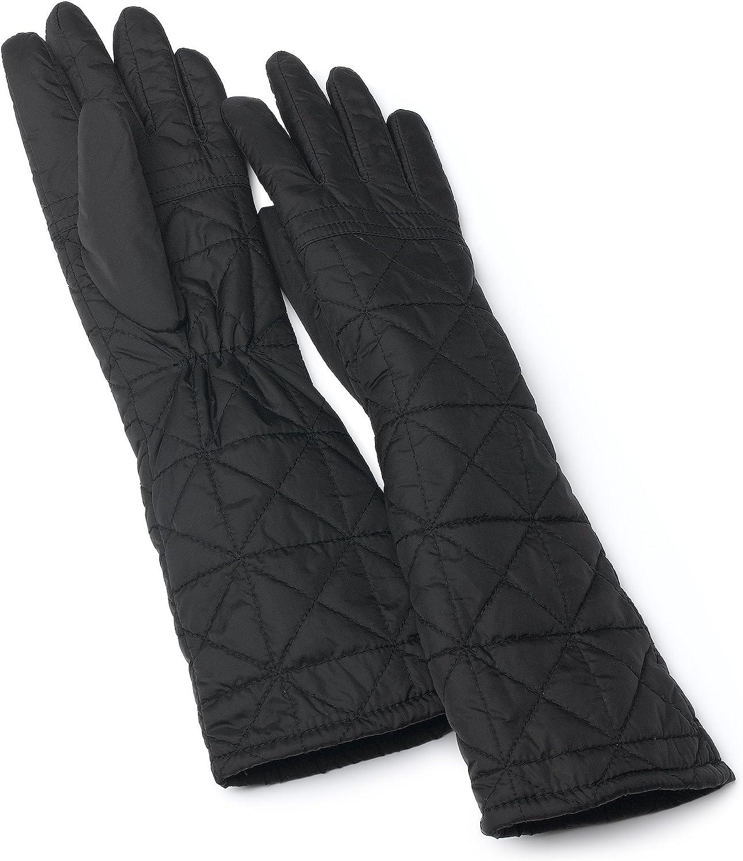 Echo Women's Quilted Glove,Black,Medium