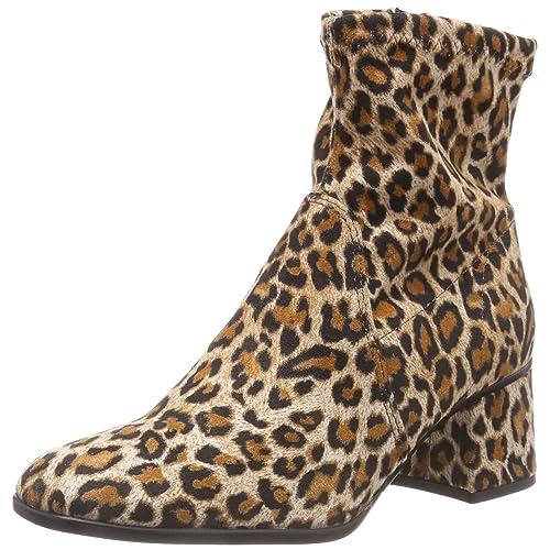 chaussures de séparation 446a3 c33ad Boots léopard: Amazon.fr