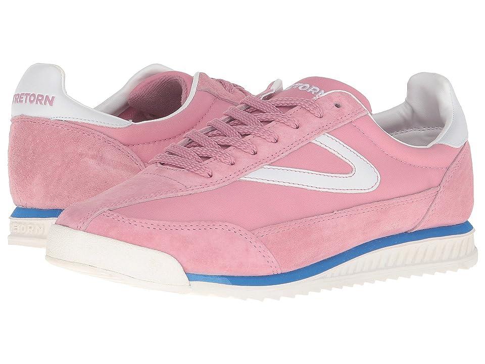 Tretorn Rawlins 3 (Pink/White/Blue) Women