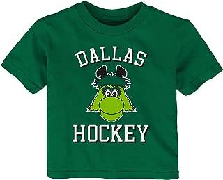 Outerstuff NHL Dallas Stars Children Unisex Hello Mascot Short Sleeve Tee, 24 Months, Kelly Green