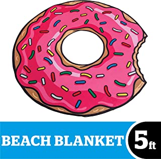 Best round donut towel Reviews