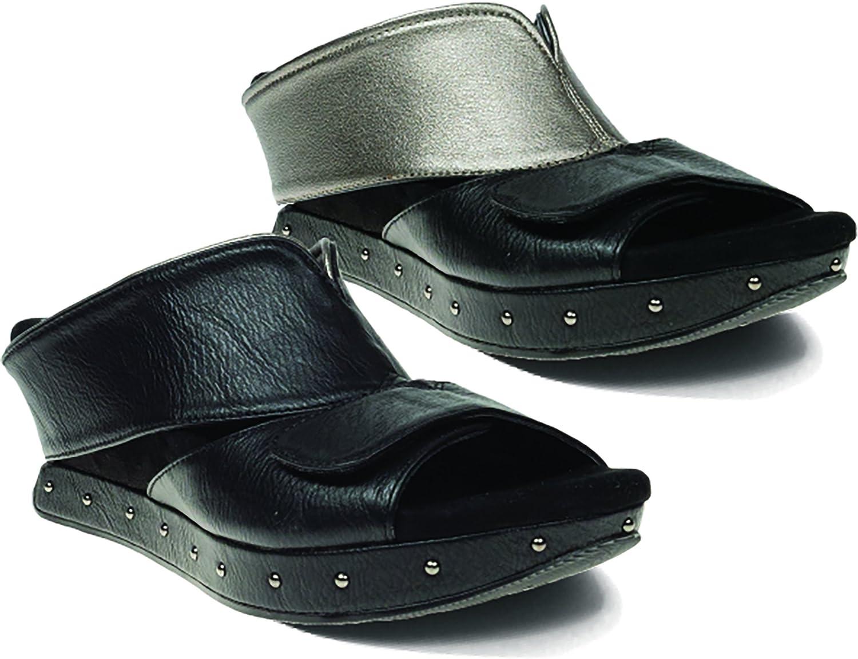 Modzori Gabbie Women's Low Wedge Reversible Twister Sandal