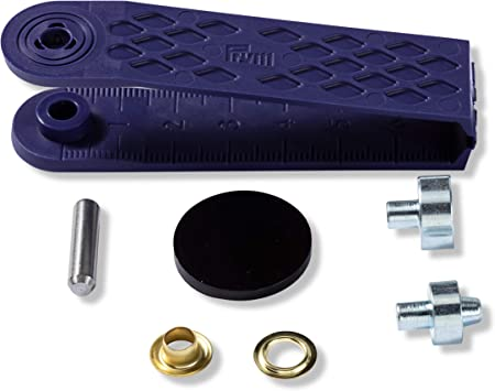 641372-15 Ösen /& Scheiben 11 mm innen 18 mm aussen Schwarz  inkl Werkzeug