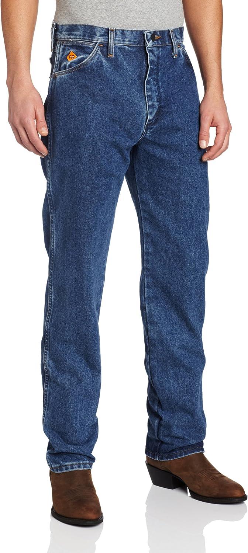 Wrangler mens FR Flame Resistant Original Fit Jean