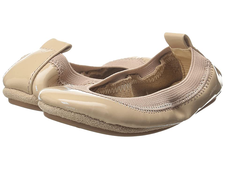 Yosi Samra Kids Sammie Super Soft Ballet Flat (Toddler) (Blush Patent Leather) Girls Shoes
