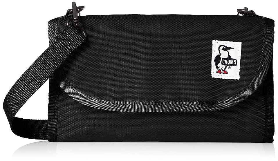 再生あさり長椅子[チャムス] Eco Bellows Pocketbook Shoulder CH60-2476-K001-00