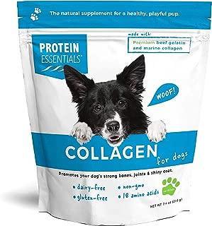 Protein Essentials Collagen for Dogs, All Natural Supplement, NonGMO Marine Collagen and Beef Gelatin
