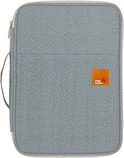 Mygreen Universal Travel Gear Organizer/Electronics Accessories Bag/Document File Bag (Large, Gray)