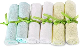 Brooklyn Bamboo | Baby Washcloth Wipes | Extremely Soft & Absorbent | Extra Durable..
