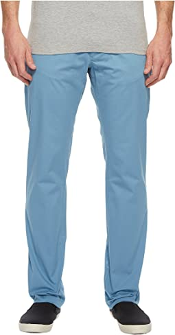 Calvin Klein Slim Fit Four-Pocket Stretch Sateen Pants