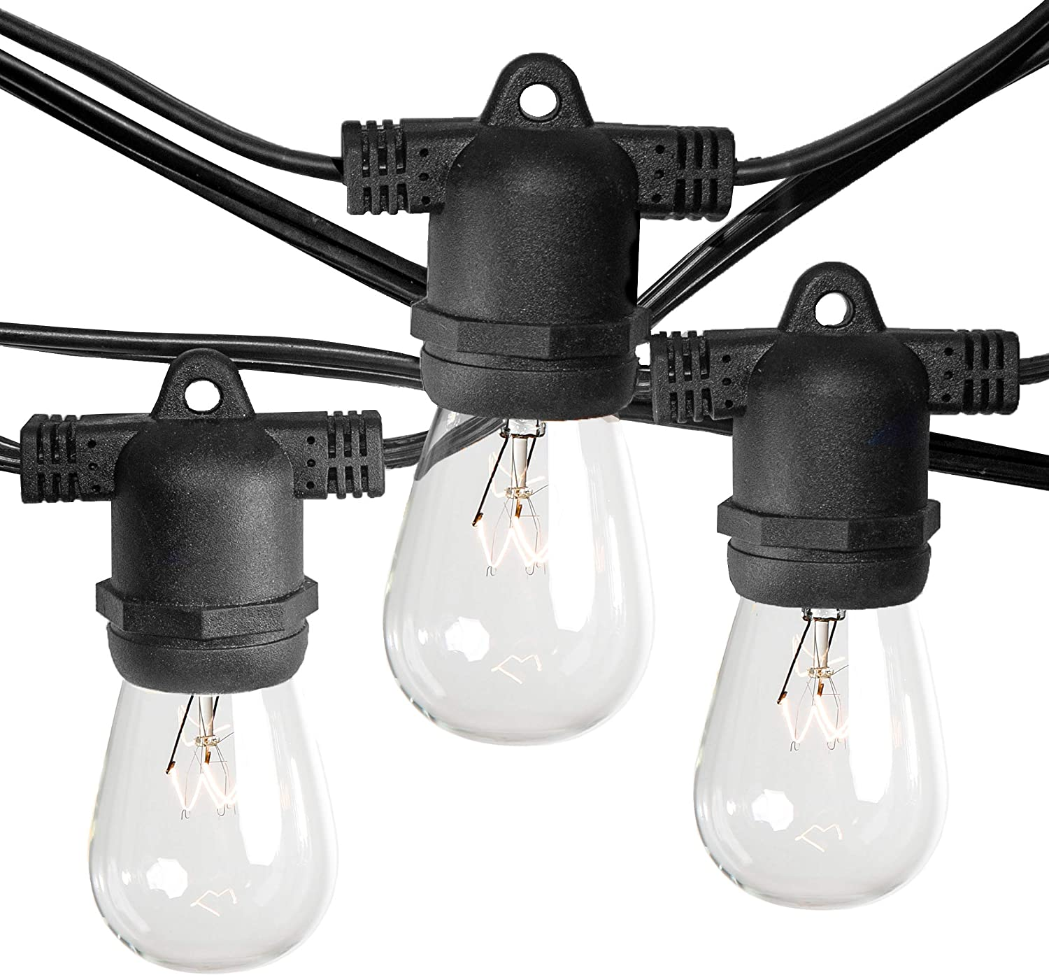 Commercial E26 favorite String Lights with 16 Gauge Wire Foot 25 Store 50 Sock