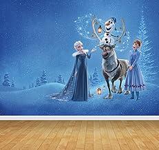 Chicbanners Frozen Elsa Anna v2 - Mural de Pared (Vinilo, 2 m de Alto x 2,7 m de Ancho), diseño de Frozen