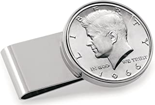 JFK Half Dollar Coin Money Clip