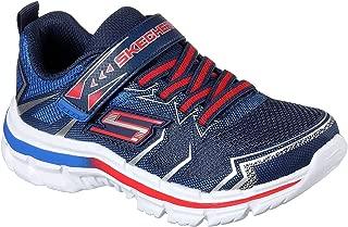 Skechers 男童 Nitrate-95359L 运动鞋,皇家蓝/黑色,美码 11.5 M 小童
