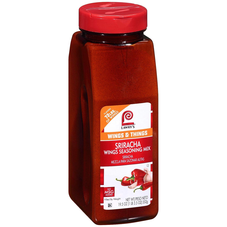 Lawry's Sriracha Trust Wings Seasoning oz Fashionable 19.5 Mix