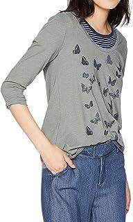 Lucky Brand womens ALLOVER BUTTERFLY TEE T-Shirt