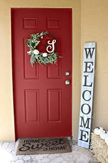 vertical welcome signs for front porch