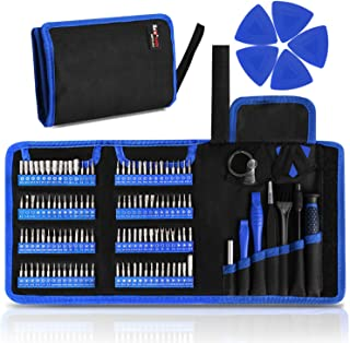 Kaisi 126 in 1 Precision Screwdriver Set with 111 Bits Magnetic Driver Kit Professional Electronics Repair Tool Kit for Repair Computer, PC, MacBook, Laptop, Tablet, iPhone, Xbox, Game Console