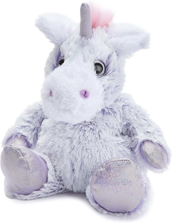 Warmies Marshmallow Unicorn Soft Tulsa Mall Toys Purple 0.76 Award kg