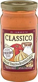 Classico Creamy Tomato & Roasted Garlic Pasta Sauce (15 oz Jar)