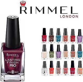 Lot of 10 Rimmel London Lasting Finish Pro Finger Nail Polish Color Lacquer All Different Colors No Repeats