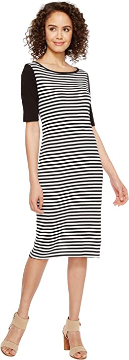 Mykonos Stripe Blocked Sheath