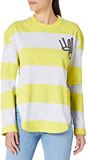 G-STAR RAW Striped Tweater Sudadera para Mujer