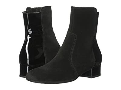 La Canadienne Jil (Black Suede/Patent) Women