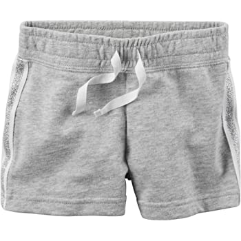 Carters Baby Girls Drawstring Shorts Pink 6 Months