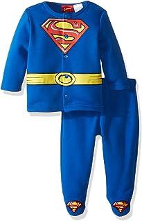 Warner Brothers Baby Boys' Superman Fleece Jacket and Pant Set