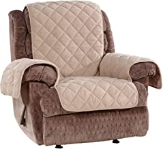 Sure Fit Home Décor Deluxe Non Skid Waterproof Recliner Furniture Cover