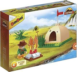 "Banbao 6663 ""Tent"" Building Set (Pack of 46)"
