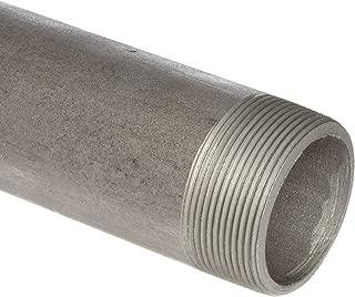 Anvil International 325 Steel Pipe Fitting, Schedule 80, Seamless Nipple, 3/4
