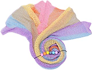 Sunmig Newborn Baby Stretch Wrap Photo Props Wrap-Baby Photography Props (Angel)