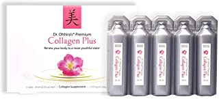 Dr. Ohhira's Premium Collagen Plus. A Liquid Easily mixable Collagen Supplement with 7,750 mg of Marine Collagen Peptides,...